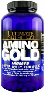 Аминокислоты Ultimate Nutrition Amino Gold 1500 mg (325 таб)