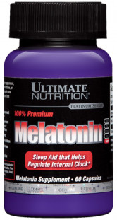 Ultimate Nutrition Melatonin 3 mg (60 капс)